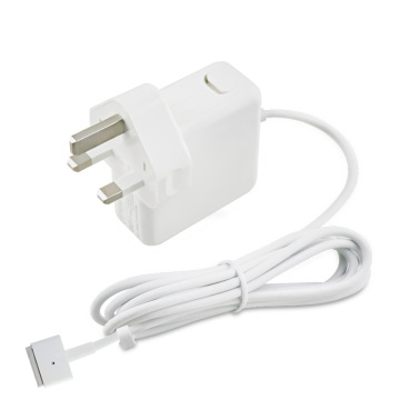 45W T Connector UK Plug Chargeur pour ordinateur portable Macbook
