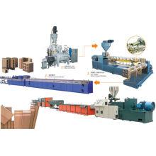 Linha de produção de couro PVC