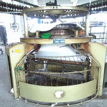 4 комплектов б / у 34-дюймовый Longbao Одноместный Джерси Knittin машины