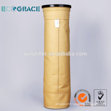 high quality PI / P84 dust filtration collection filter bags