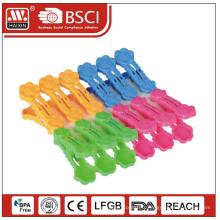 Clips en plastique pour vêtements / petites chevilles de vêtements / vêtements en plastique clips (12 pcs)