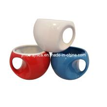 Caneca cerâmica do copo de café da novidade