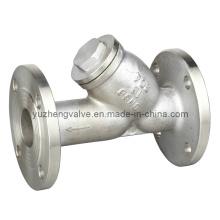 Filtro de aço inoxidável ANSI Flanged Y