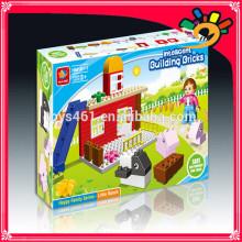 Plastikbausteine Spielwaren 35pcs DIY Bausteine Spielwaren