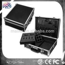Fabrik Hersteller professionelle Tattoo Maschine Fall / Aluminium Make-up leere Fall / Aluminium Kosmetik Koffer