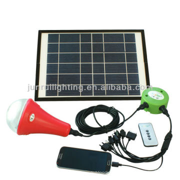 lámpara solar para el hogar usando