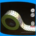 2 '' largura personalizada esculpida reflexiva transferência de calor filme tira