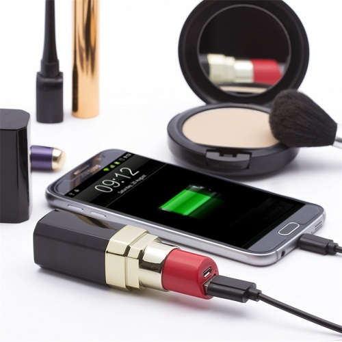 Unique Luxury Lipstick mah Makeup Power Bank