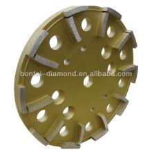 Roda de copo de diamante 250mm para betão
