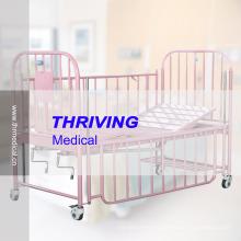 2-Crank Stainless Steel Children Bed (THR-CB15)