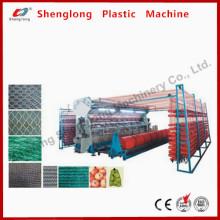Machine de fabrication de panneaux de parasol / Tissu circulaire en plastique