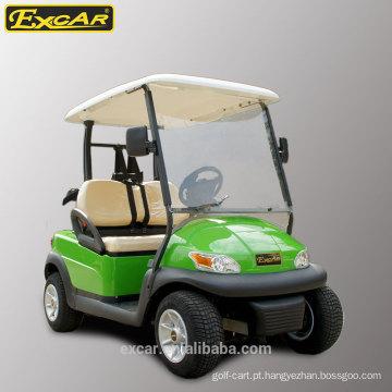 EXCAR 2 lugares baratos carrinho de golfe elétrico para venda china club golf buggy car