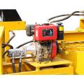 hydraform ineinandergreifender Block, der Maschine in Uganda herstellt