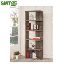 Pretty natural wood color wooden bookcase all size all color