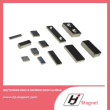N35-N52 alta qualidade anel personalizado permanente NdFeB/ímã do Neodymium para motores