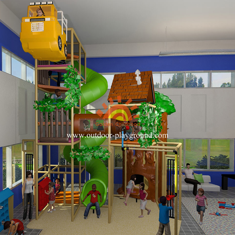 Forest Themed Indoor Playground For Sale