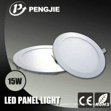 Panneau rond de CE / RoHS 3-24W LED pour l'intérieur (PJ4030)