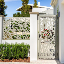 Laser Cut Metal Gate Design