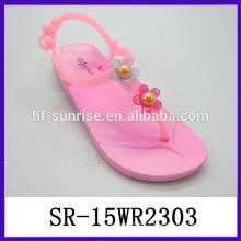 flower women fancy sandals summer sandals for women 2015 PVC sandals