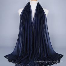 Best quality promotional custom design cheap 100% polyester muslim women hijab