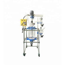 Hot Sale Lab Chemical  20L Glass Jacketed Double Layer Reactor