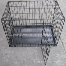 Doppelte Türen klopfen Metall Tier Tier Kaninchen Käfig