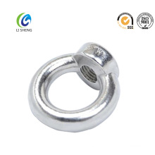 Polished stainless steel DIN582 eye nut