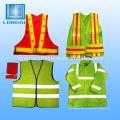jaqueta colete de segurança reflexiva ou roupas
