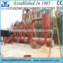 CE aprobó secador de flujo de tubo de aire de 800kg / h, secador de aserrín de madera