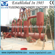 CE approved 800kg/h air pipe flow dryer,wood sawdust dryer