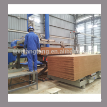 Double sided sanding machine for MDF/particle board/ HPL/ wood-based panel sanding machine