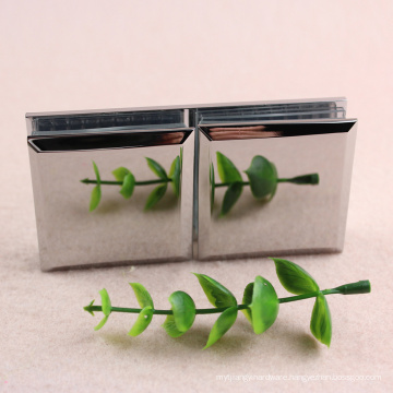 Top quality stainless steel glass to glass clamp with short lead time