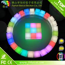 Cubo LED impermeável
