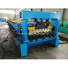 Automatic aluminum steel floor deck profile making machine