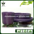 Ecológico orgánico característica vegetal natural fibra tipo vajilla set