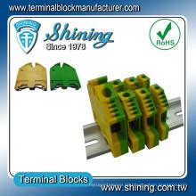 TF-G10 Din Rail Gelb Grün 10mm2 Erdungskabel Stecker