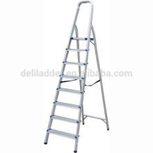 Échelle en aluminium de ménage / 8 marches d'escalier domestique