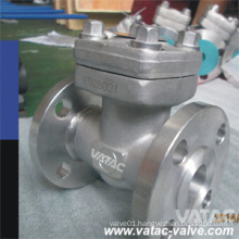 Forged Carbon Steel A105n/F304/F316 Flanged Swing Check Valve