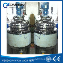 Pl Stainless Steel Jacket Emulsification Mixing Tank Oil Blending Machine Auto Paint Mixing Machine