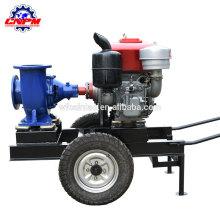 Landwirtschaftliche Bewässerungswasserpumpe des Dieselmotors