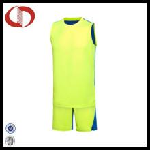 Zwei Farben Sport Custom Logo Basketball Jerseys für Mann