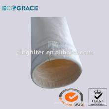 Tejido Needld perforado bolsa de filtro de acrílico / calcetín de filtro para las industrias de piedra