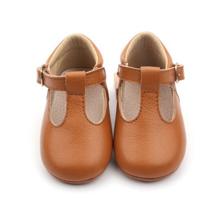 New Fashion Brown Baby Infant Shoes