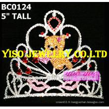 Couronne valentine tiara