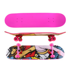 OS780 Colorful Grape Complete Canadian Maple Skateboard
