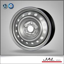 Fábrica de la fuente de alta precisión 6.5x16 ruedas llantas con 5 Lug en color plata