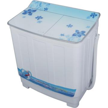 Semi Automatic 9.5KG Twin Tub Washer Dengan Pengering