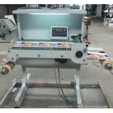Machine d'étiquette d'inspection Zb-320/420