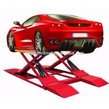 Comprimento para elevador hidráulico de plataforma ajustável para lavagem de carros