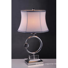 Warmly Practical Metal Crystal House Table Light (BT6078)